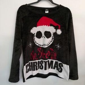 Nightmare Before Christmas Plush Sleep Top T-shirt